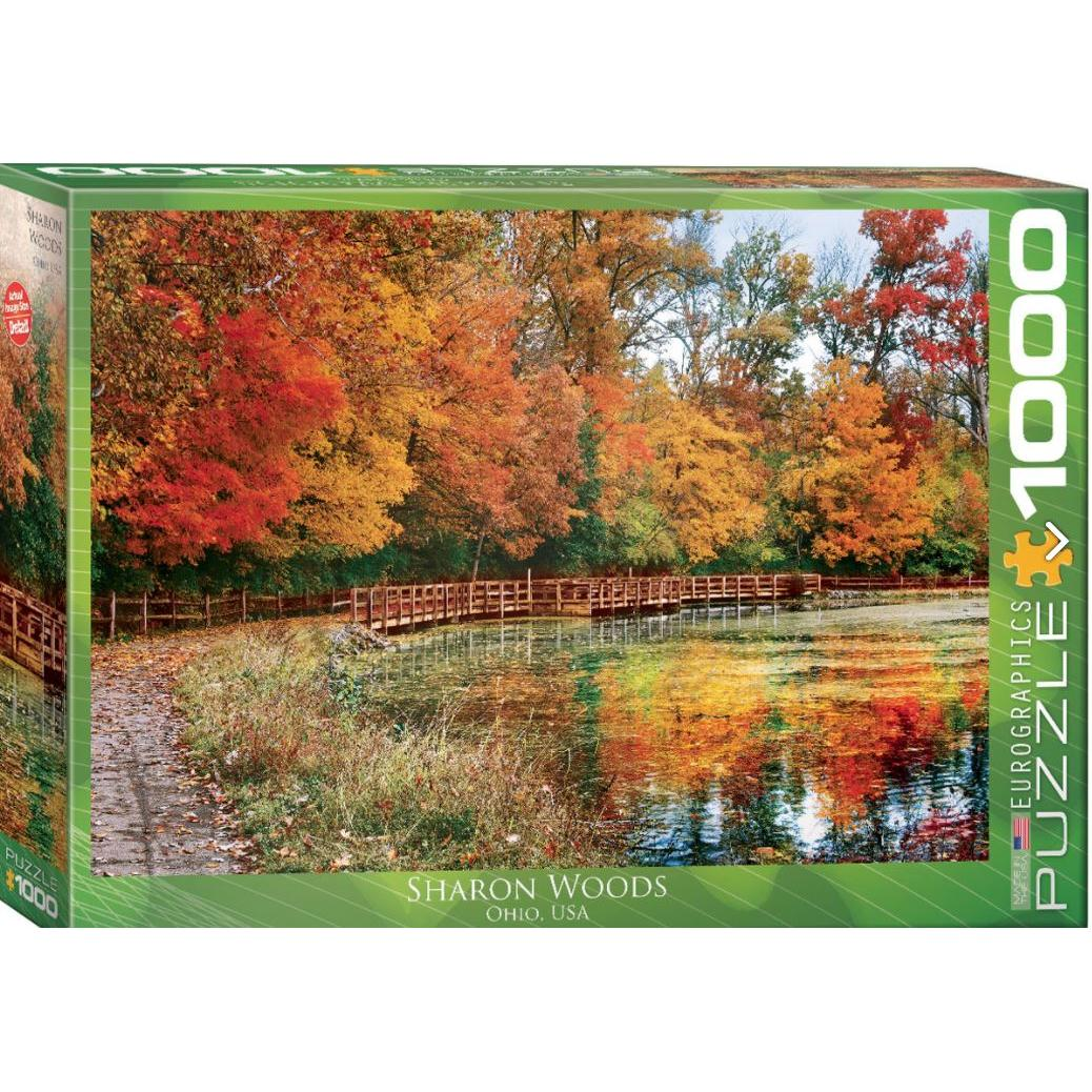 Puzzle 1000 Piece Sharon Woods, Ohio