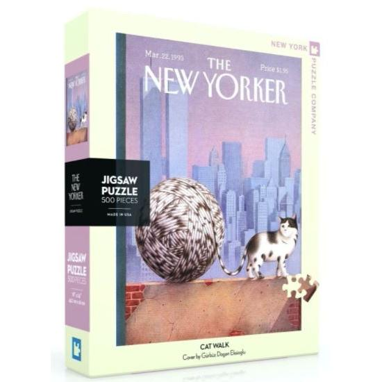 New Yorker Puzzle 1000 Piece Cat Walk