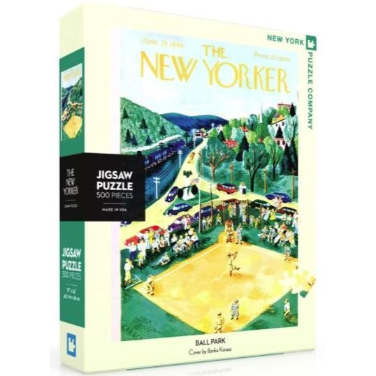 New Yorker Puzzle 500 Piece Ballpark