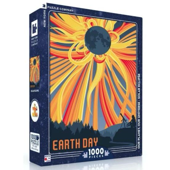 Visions Of The Future Puzzle 1000 Piece Solar Eclipse