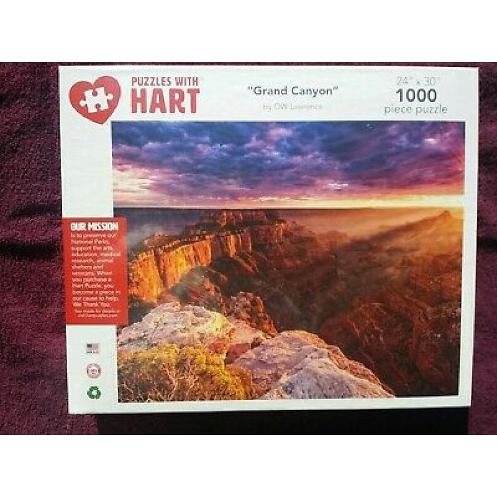 Puzzle 1000 Piece Grand Canyon by OW Lawrence
