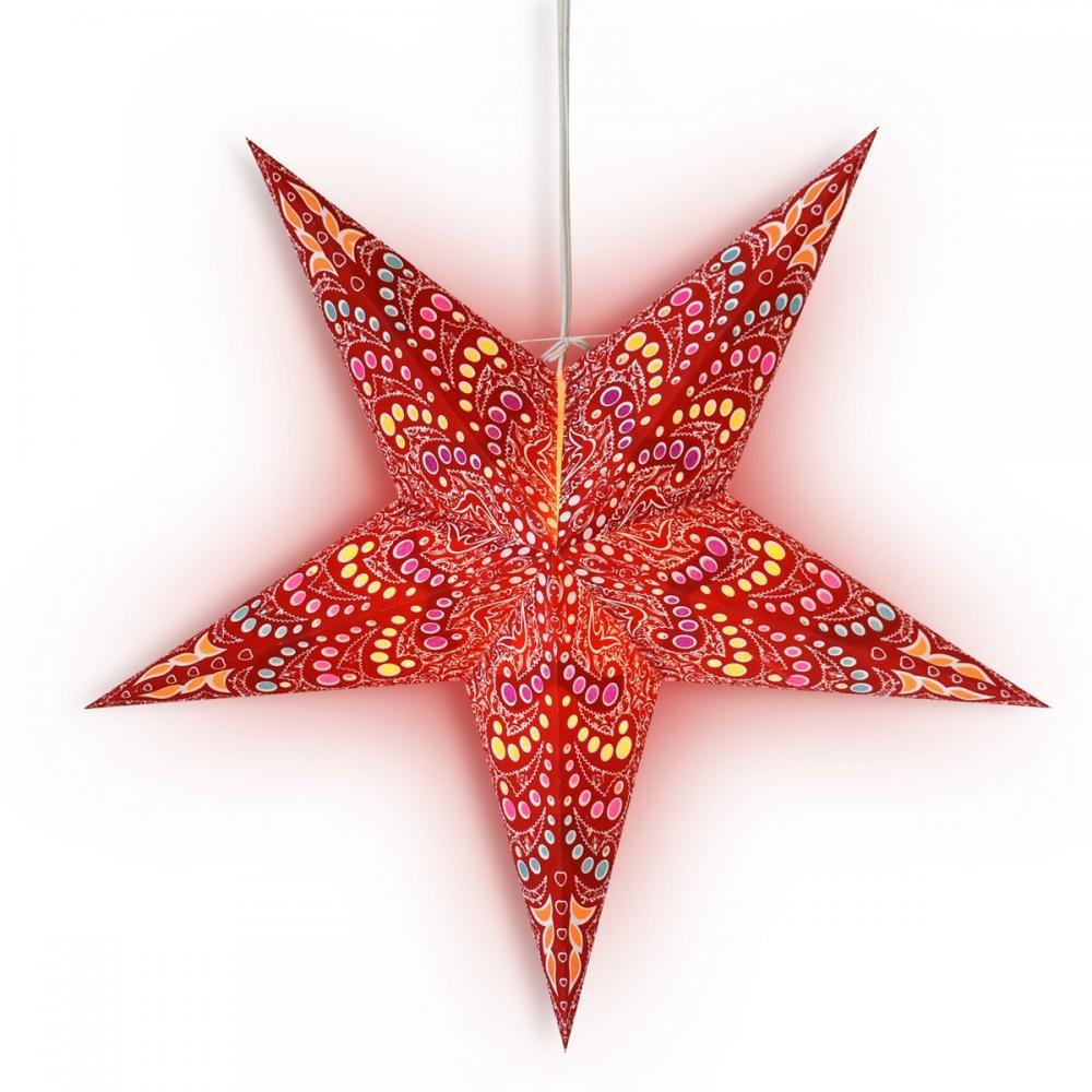 Star Lantern Red Aloha