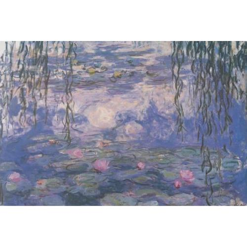 24inx36in Monet Nympheas Poster
