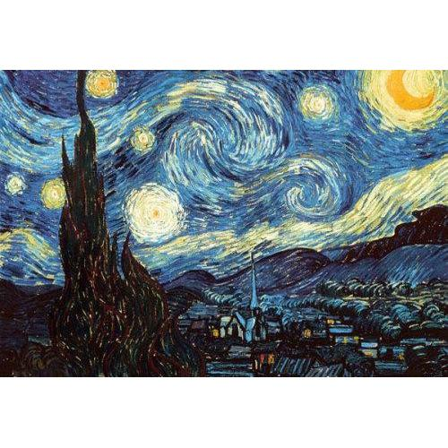 24inx36in Van Gogh Starry Night Poster