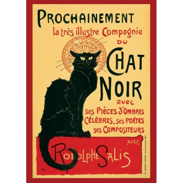 24inx36in Chat Noir Poster
