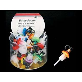 Wine Bottle Stopper Pourer Assorted Colors
